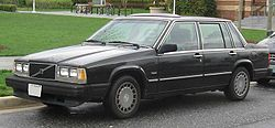 Volvo 740 GL sedan (US)