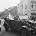 Voorbereidingen en onderhandelingen tot de capitulatie in Wageningen Aankomst v, Bestanddeelnr 900-2783.jpg