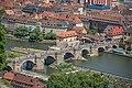 Würzburg, Alte Mainbrücke, Ansicht von der Festung Marienberg 20170624 001.jpg