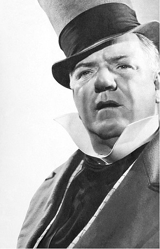 Wilkins Micawber - W. C. Fields in his famous role as Mr. Micwaber