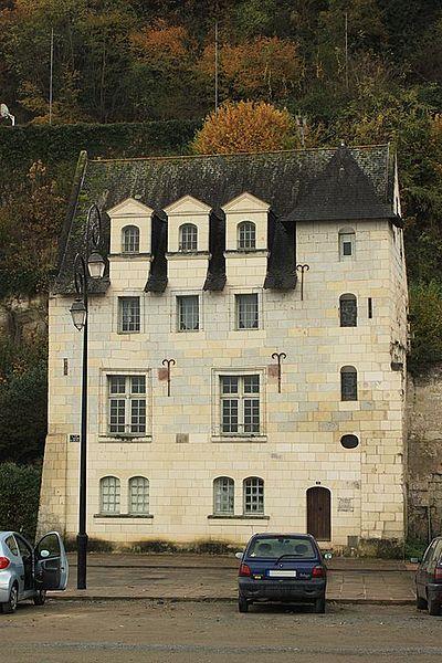 Maison 1 de la Fontaine, Fr-49-Saumur.