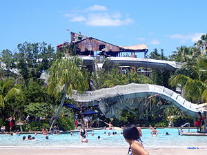 Disney's Typhoon Lagoon - Crush 'n' Gusher