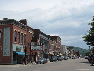 Wellsville (village), New York - Main Street