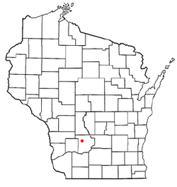 Location of Reedsburg, Wisconsin