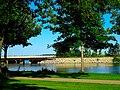 WI ^ Southern Railroad Bridge over the Lake Monona - panoramio.jpg