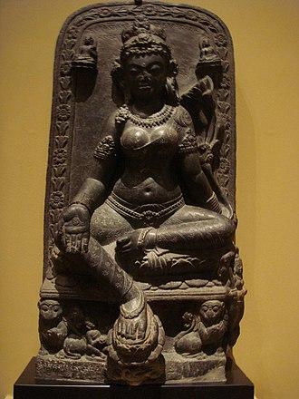 Tara (Devi) - Goddess Tara, Bihar c. 9th century.
