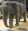 WLA nyhistorical Elephant ca 1900-1930 Painted plaster.jpg