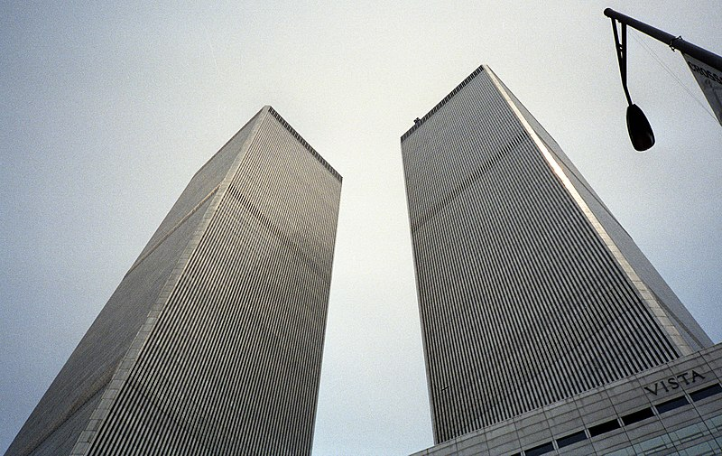 Twin Towers in 1992
