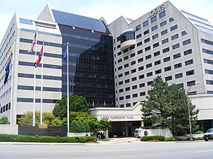 English: Loews Vanderbilt Hotel in Nashville, ...
