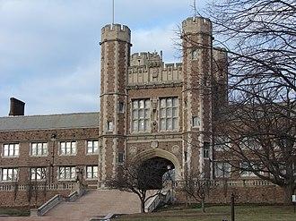 Robert S. Brookings - Brookings Hall at  Washington University in St. Louis is named after Brookings
