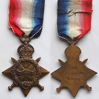 1914–15 Star Campaign medal of the British Empire