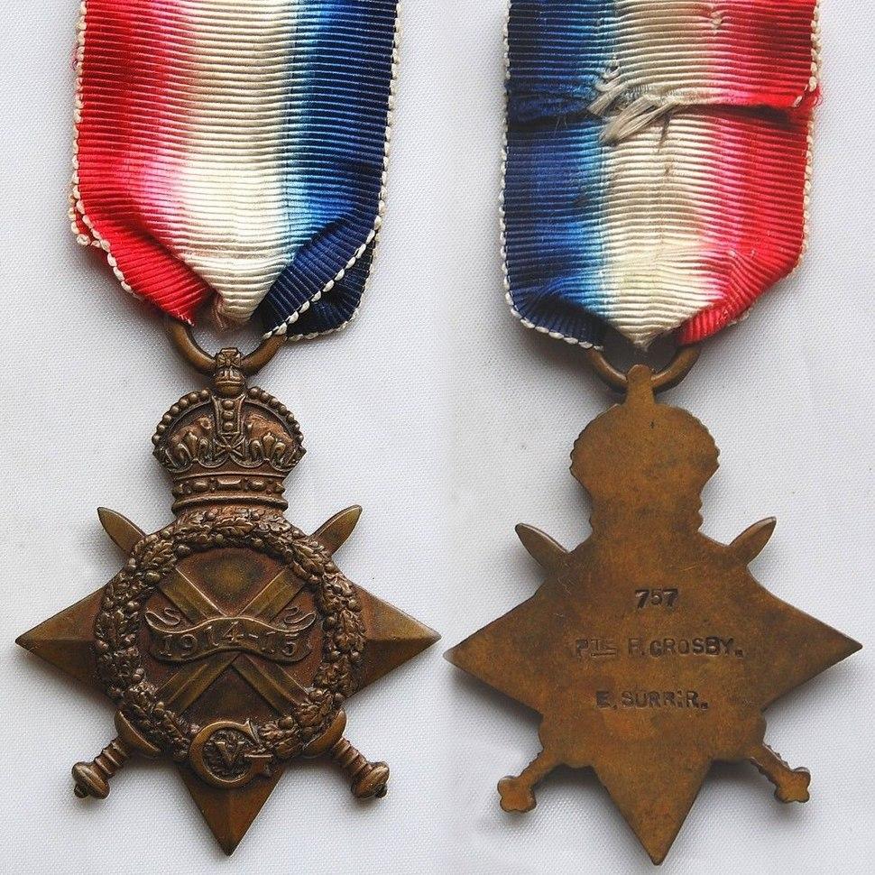 WW1 1914-15 Star