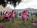 WWOZ 30th Parade Elysian Fields Lineup Steppers 4.JPG