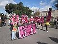 WWOZ 30th Parade Elysian Fields Lineup Steppers Street.JPG