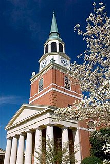 Wake Forest University School of Divinity