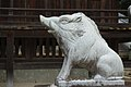 Wake Jinja guardian wild boar koma-inoshishi Agyo-right.jpg