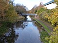 Walsall Canal - Wednesbury - Willingsworth Hall Bridge - Moorcroft Junction Foot and Pipe Bridge (38489333556).jpg