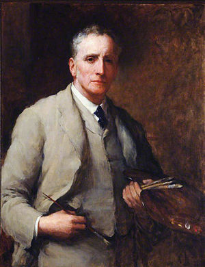 Walter William Ouless - Self-portrait (1918)