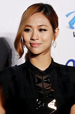 Wang Feifei at Seoul Music Awards red carpet, 19 January 2012.jpg