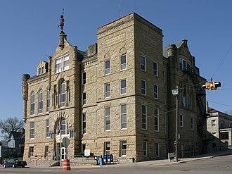 Ottumwa, Iowa - Wapello County Courthouse