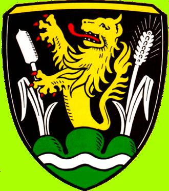 Großkarolinenfeld - Image: Wappen Grosskarolinenfeld