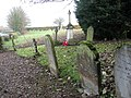 War memorial and churchyard north of St Andrew's church - geograph.org.uk - 1576755.jpg