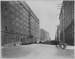 Warehouse district street scene. Omaha - NARA - 283718.tif