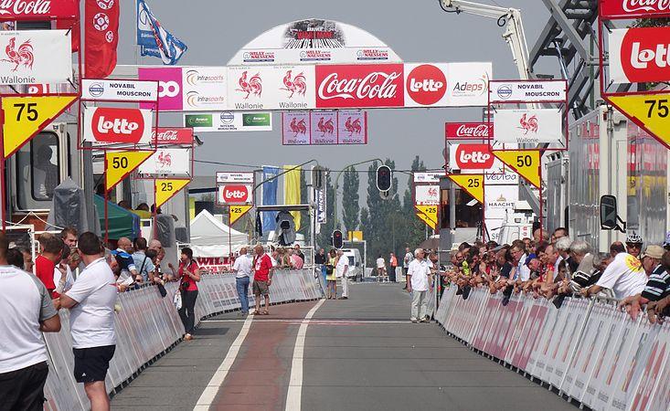 Waremme - Tour de Wallonie, étape 4, 29 juillet 2014, arrivée (B14).JPG