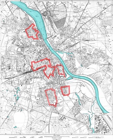 Polish-controlled areas of Warsaw after the fall of the Old Town, around 10 September 1944 Warszawa Powstanie 1944-09-10.jpg