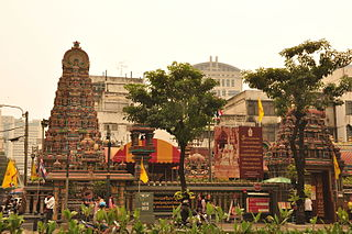 Mariamman Temple, Bangkok Hindu temple in Bangkok, Thailand