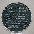 Wednesday Market Place plaque - geograph.org.uk - 1776822.jpg