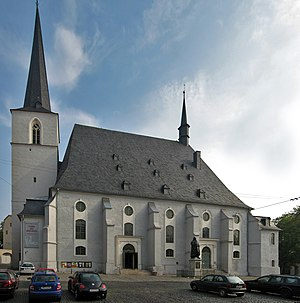 St. Peter und Paul, Weimar - St. Peter und Paul, from the south