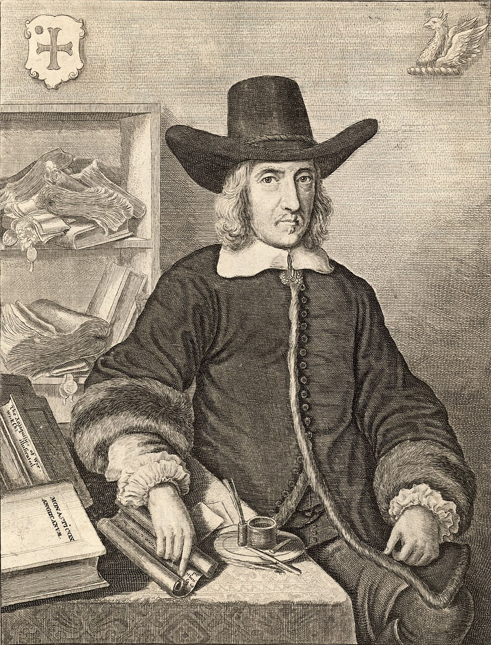 Wenceslas Hollar - William Dugdale (State 5) cropped