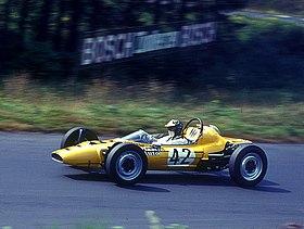 Olympic Formel V mit Hannelore Werner 1969 auf dem Nürburgring