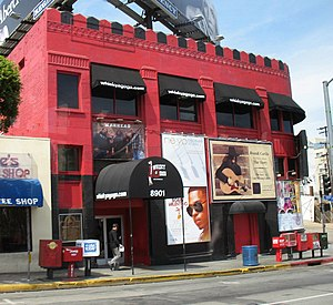 Whisky a Go Go, a famous club in West Hollywood