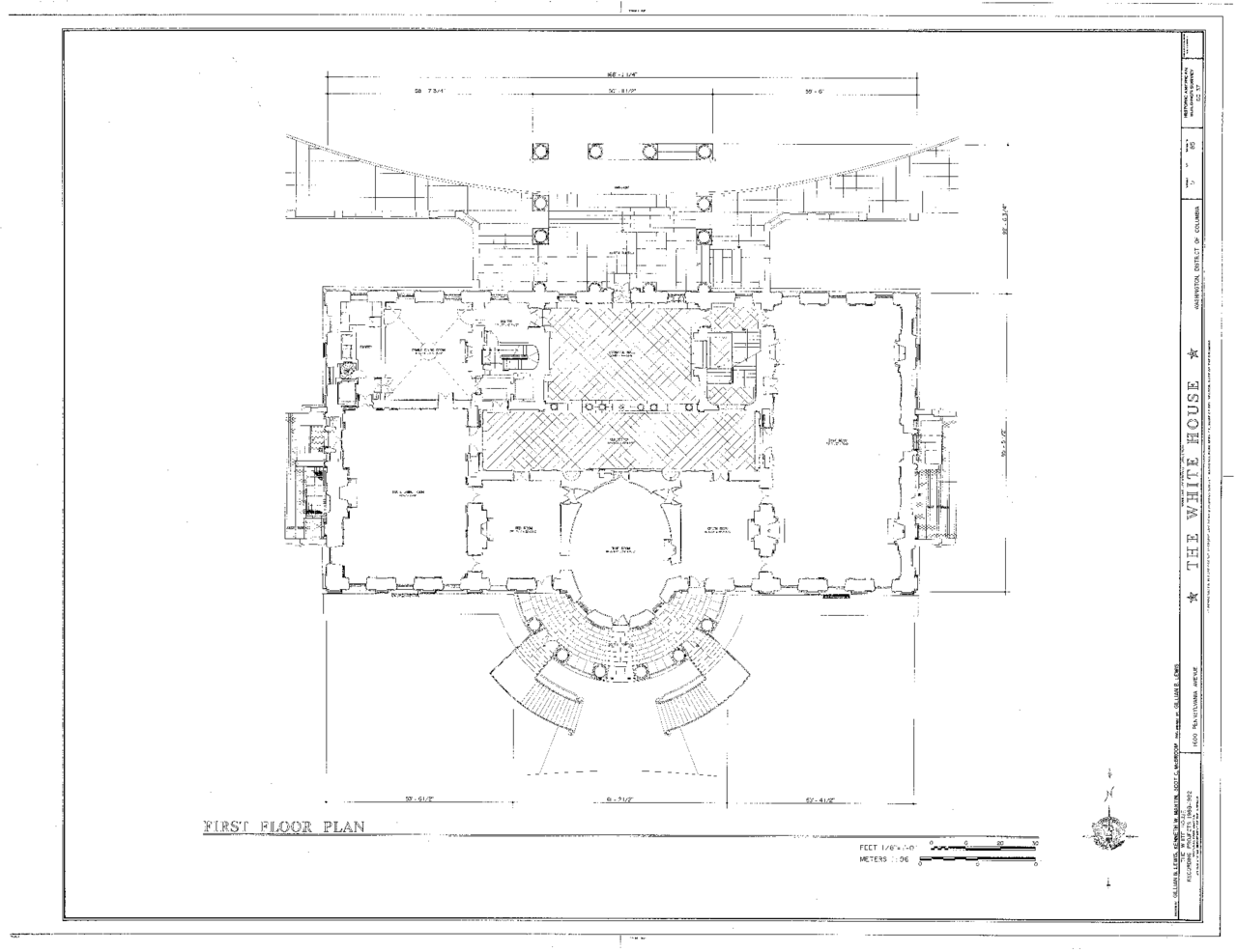 file white house floor1 plan scaled png wikimedia commons