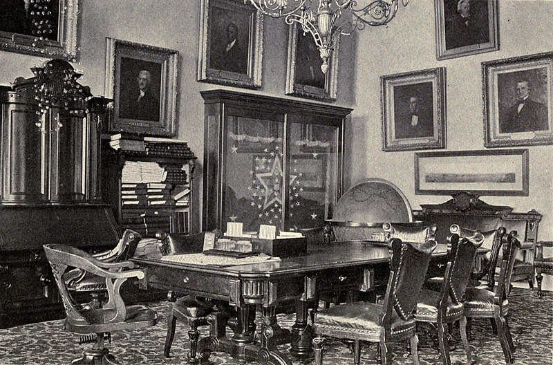 File:White House Treaty Room 1901.jpg