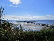 White Rock Pier In Summer