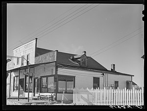 Pine Ridge Indian Reservation - Tavern in Whiteclay, Nebraska (1940)