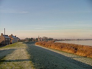 Whitgift, East Riding of Yorkshire - Image: Whitgift, dyke and Ouse