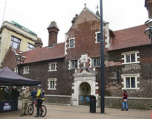 Whitgift Foundation - The Hospital of Holy Trinity almshouses in central Croydon