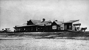 Whitton, New South Wales -  Whitton Railway Station (1899-1925)
