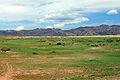 Widoki mongolskiego krajobrazu widziane z minibusa Karakorum - Ułan Bator (02).jpg