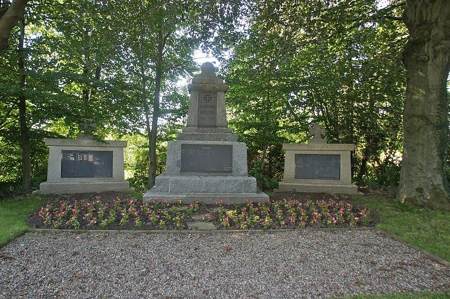 Wiemersdorf,  Germany: War Memorial