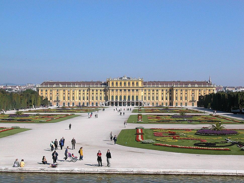 Wien Schoenbrunn Rueckseite