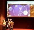 WikiCite 2018 Phoebe Ayers, Ben Vershbow and John Chodacki (45414755134).jpg