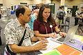 Wiki Education Foundation at ASPB 2015.jpg