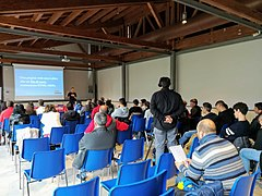 Wikidata's 6th birthday in Rieti 40.jpg