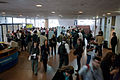 Wikimania 2009 - People arriving.jpg