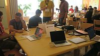 Wikimedia Hackathon 2017 IMG 4268 (34593925822).jpg